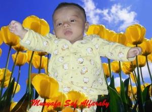 MS Alfaraby (usia 4 bulan)