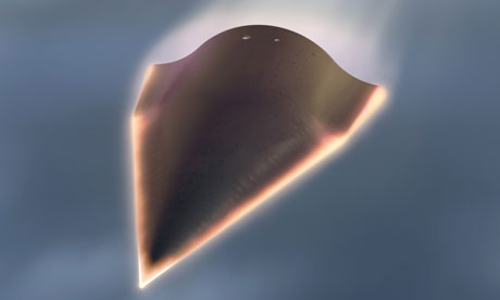 Pesawat dengan kecepatan 20 kali kecepatan suara